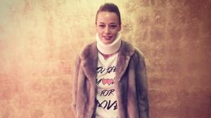 Andreea Raicu, victima unui accident rutier