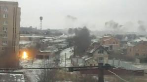 Atac asupra oraşului Kramatorsk