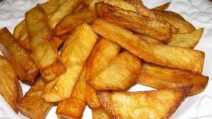 Cartofii prăjiţi, mai periculoşi decât credeai. Iată ce substanţă conţin