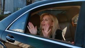 Elena Udrea, oprită de Poliție în trafic, în drumul spre Înalte Curte