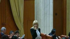 Elena Udrea, gest șocant în Parlament, după încheierea discursului