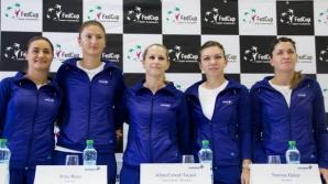 Fed Cup. Astăzi se joacă meciurile decisive din partida de tenis România-Cehia