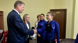 Iohannis: Prin prezenţa mea la Fed Cup, reconfirm susţinerea pentru sportivii români