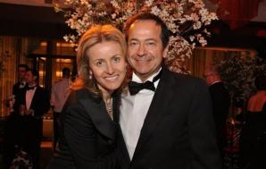 Jenny Paulson, alături de soțul miliardar