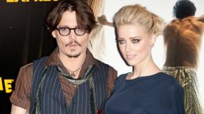 Johnny Depp s-a căsătorit cu actrița americană Amber Heard