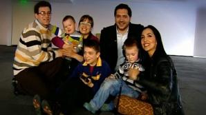 <p>Mihai şi familia sa, la Oameni şi Fapte</p>