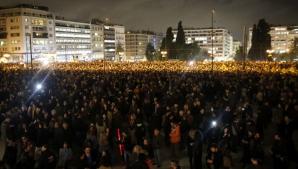 """Miting de amploare la Atena: """"Europa nu ne poate șantaja!"""""""