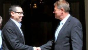 Întâlnire Iohannis - Ponta, pe tema viitoarei şedinţe CSAT