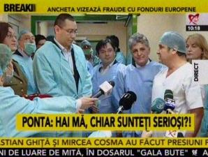 Ce face Victor Ponta în timp ce sora sa este audiată la DNA
