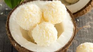Cum să faci bomboane Raffaello cu cocos