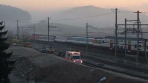 Ciocnire de trenur lângă Zurick