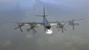 Avioane de vânătoare britanice, trimise pentru interceptarea a două bombardiere ruse
