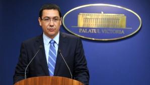 Ponta, despre proiectul de Cod Fiscal: Este ultima promisiune de îndeplinit.Nu este în formă finală