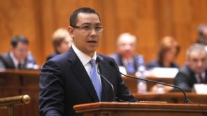 Ponta: Cu o nouă colaborare între președinte, Parlament și Guvern, se vor reduce OUG
