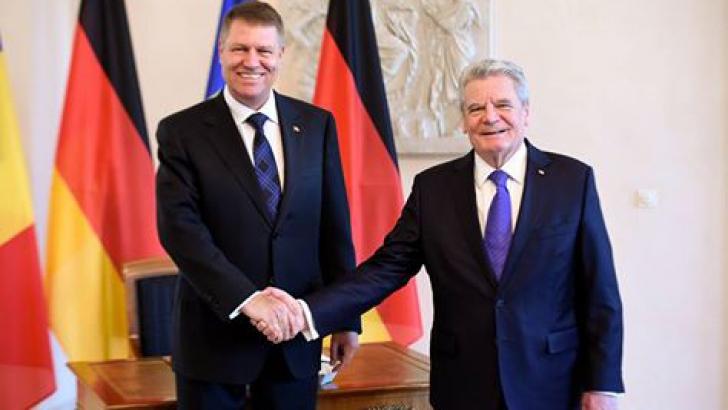 Klaus Iohannis, mesaj de ultimă oră, după întâlnirea cu preşedintele Germaniei / Foto: Facebook.com