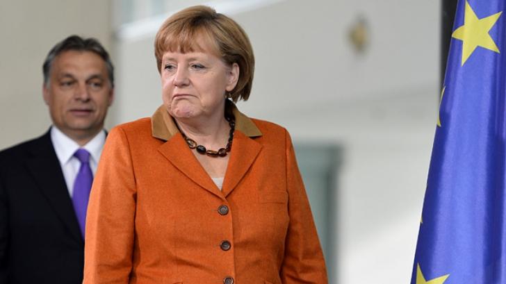 Angela Merkel şi Viktor Orban