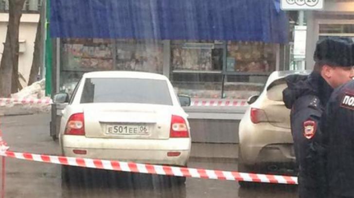 Maşină suspectă la locul crimei