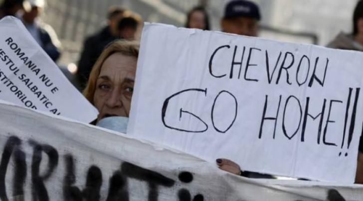Chevron se retrage din România şi renunţă la explorarea zăcamintelor de gaze de şist