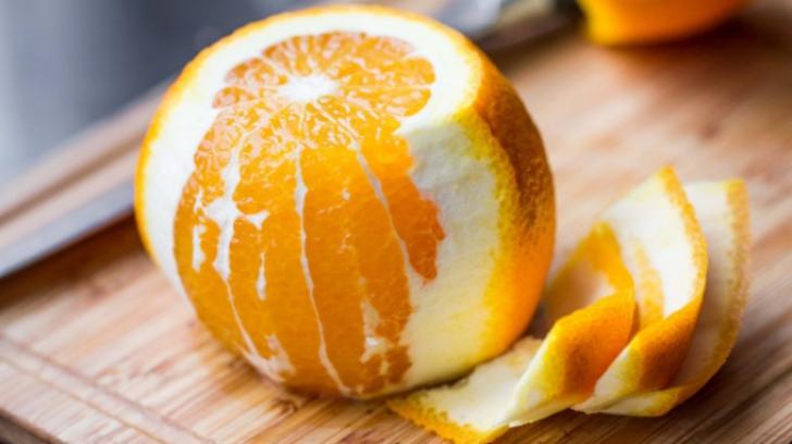 Moduri în care poți folosi cojile de portocale