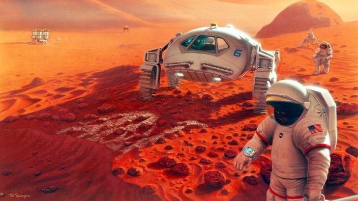Un selfie de pe altă planetă: Cea mai reușită poză transmisă de un vehicul de pe Marte