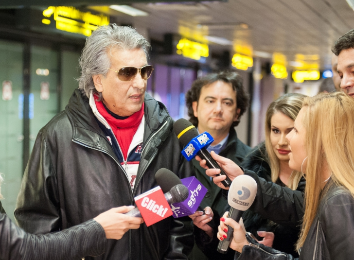 Pretențiile lui Toto Cutugno pentru concertul de la București: limuzină, bodyguarzi și șampanie
