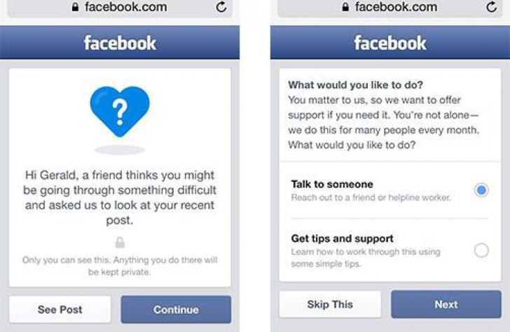 Facebook introduce o nouă opţiune. Cum vrea să îi ajute pe cei cu gânduri sinucigaşe