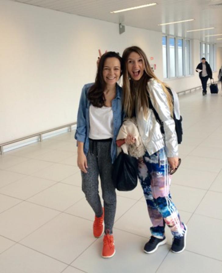 Adela Popescu a plecat în vacanță fără știrea iubitului