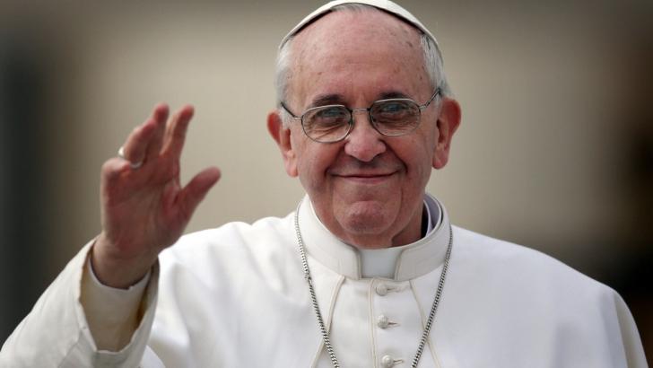 Gest superb al Papei Francisc