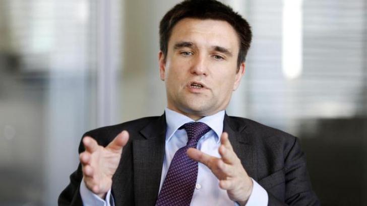 Pavlo Klimkin, ministrul ucrainean de Externe