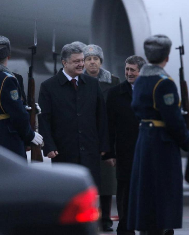 Putin, Merkel, Hollande, Poroșenko-întâlnire crucială la Minsk.Ultima șansă pentru pacea din Ucraina