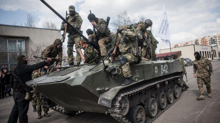 Comandamentul militar de la Kiev: Separatiștii își regrupează forțele în alte puncte ale frontului