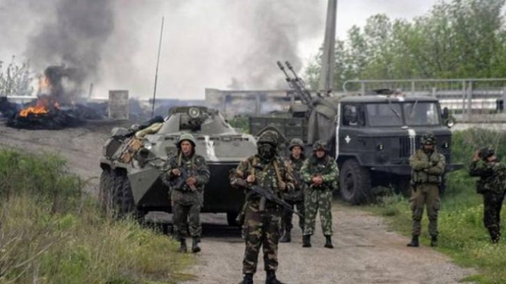Ucraina: Tiruri cu lansatoare de rachete Grad în estul separatist, în pofida armistițiului