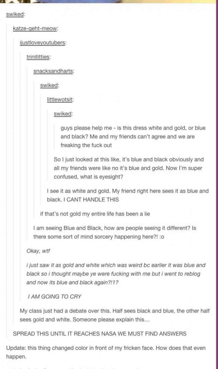 Discuţia de pe Tumblr
