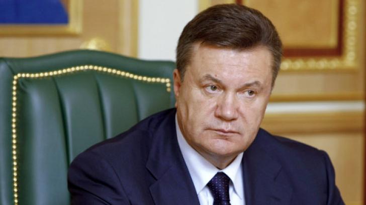 Fostul preşedinte al Ucrainei, Viktor Ianukovici