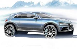 Primele schiţe ale conceptului din care se va naşte micul SUV Audi Q1