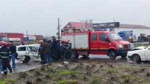 Accident cumplit cu patru maşini, în judeţul Constanţa: două victime / Foto: ziuaconstanta.ro