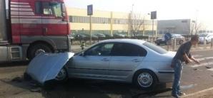 Accident grav la Timişoara: trei răniţi, după un impact extrem de violent / Foto: opiniatimisoarei.ro