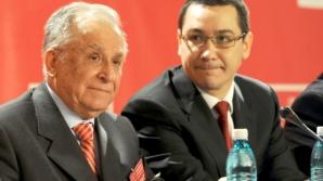 """Victor Ponta i-a urat """"La Mulți Ani"""" lui Ion Iliescu"""