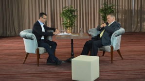 La hotelul lui Marin Dumitru a înregistrat pentru Antena 3 câteva emisiuni Victor Ciutacu.