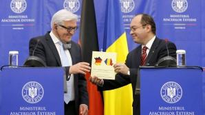 Gafă la MAE: steagul Germaniei pe harta Franţei, în broşura dăruită lui Frank Walter Steinmeier
