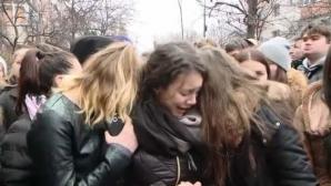 Momente dramatice la înmormântarea Dianei