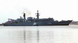 Fregata Regina Maria, parte a unei grupări navale NATO în Marea Neagră