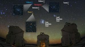 Mai multe galaxii pitice descoperite în apropierea Căii Lactee