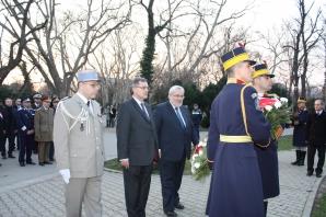 Jean-Marc Todeschini, Secretar de Stat pentru Veterani și Memorie, a efectuat o vizită în România