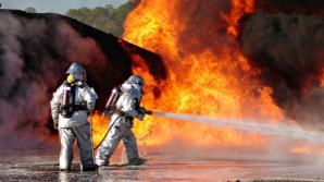 Biserică în flăcări, în Baia Mare
