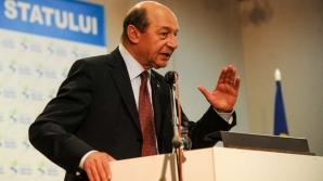 Băsescu: Am venit să-i atenționez pe cei din conducerea PMP.A fost o declarație extrem de importantă