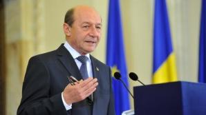 Băsescu, la sediul PMP: Primul meu obiectiv este să le transfer experiența pe care o am
