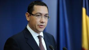 Ponta: Vom continua să cerem acordul CE privind suplimentarea de 0,3% din PIB pentru apărare