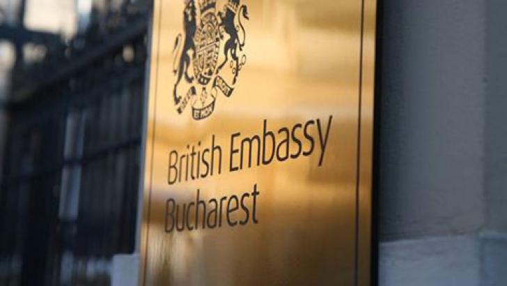 Ambasada Marii Britanii la Bucureşti