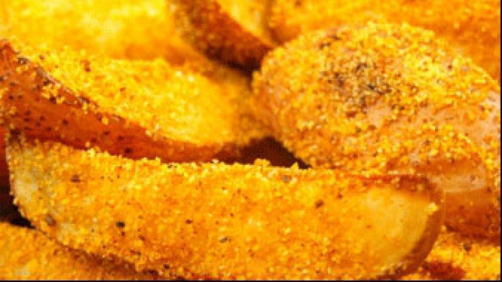 """Reţetă: Cartofii """"prăfiţi"""" care nu îngraşă"""
